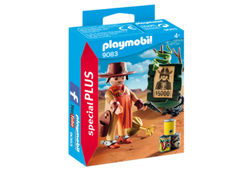 Playmobil 9083, Cowboy med Wanted Poster - Playmobil 9083, Cowboy med Wanted Poster