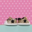 BABY born Trend Sneakers Glitter - Guld
