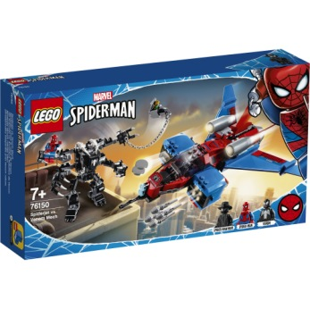 76150 LEGO Super Heroes Spiderjet mot Venoms robot 7+ - 76150 LEGO Super Heroes Spiderjet mot Venoms robot 7+