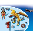 Playmobil 5462, De asiatiska drakriddarna, Stendrake med soldat