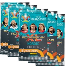 1-PACK Uefa Euro 2020 booster fotbollskort samlarkort