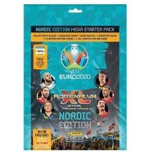 Uefa Euro 2020 Startpaket nordic edition fotbollskort
