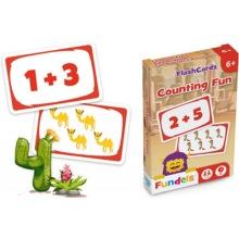 Spelkort räkna med siffror 6+