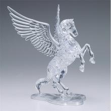 Häst - 3D Crystal Puzzle -  42pcs 8+