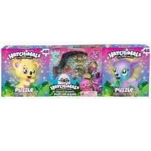 Hatchimals Spel och Pussel 3-pack
