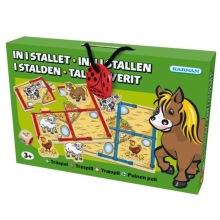 Kärnan barnspel, In i stallet