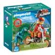 Playmobil Dinos - Motocrosscykel med raptor 9431 - Playmobil Dinos - Motocrosscykel med raptor 9431