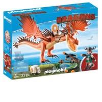 Playmobil Dragons - Snorslödder och Kroktand 9459