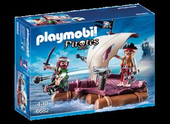 PLAYMOBIL 6682 Piratflotte - PLAYMOBIL 6682 Piratflotte