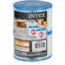 Spa filterpatron 2-pack S1 för Intex bubbelpooler