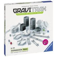 GraviTrax Trax Expansionspaket till kulbanesystem 8+