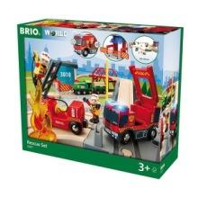 Brio 33817, Tågset med räddningstema