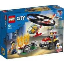 60248 LEGO city Räddning med brandhelikopter 5+