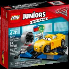 Lego Juniors 10731, Cars 3, Cruz Ramirez racingsimulator