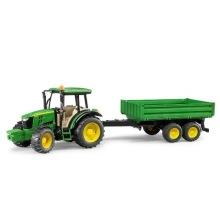 Bruder John Deere Traktor Med Tippsläp