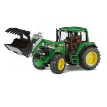 Bruder traktor, John Deere med frontlastare 6920