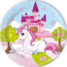 Unicorn, Tallrikar 8-pack