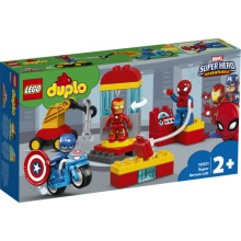 10921 LEGO Duplo Superhjältarnas labb 2+