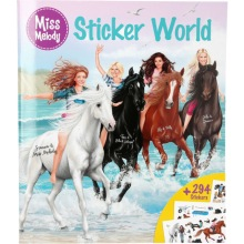 Miss Melody stickerworld
