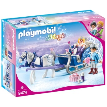 Playmobil Magic - Släde med kungligt par 9474 - Playmobil Magic - Släde med kungligt par 9474