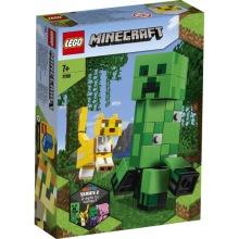 21156 LEGO Minecraft BigFig Creeper™ och ozelot 7+