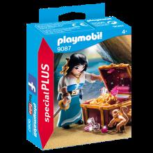 Playmobil 9087, Pirat med skatt