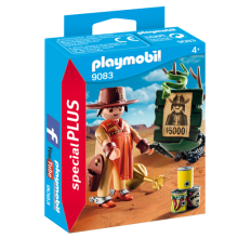 Playmobil 9083, Cowboy med Wanted Poster