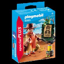 Playmobil 9083, Cowboy med efterlystaffisch