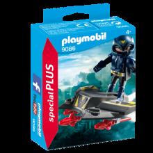 Playmobil 9086, Sky Knight med jetplan