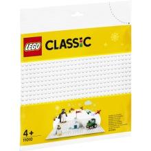11010 LEGO Classic Vit basplatta 4+
