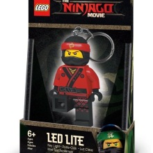 Kai LED LITE NinjagoMovie Torch - Nyckelring 6+