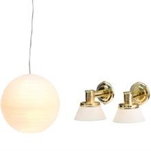 Lundby Småland, Lampset 3, Rislampa & vägglampor