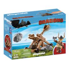 Playmobil 9245 Dragons, Gape med katapult