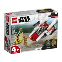 LEGO Star Wars 75247 - Rebel A-Wing Starfighter 4+