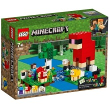 LEGO Minecraft 21153 Ullfarmen 7+