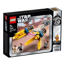 LEGO Star Wars 75258, Anakin's Podracer – 20-årsjubileumsutgåva 7+