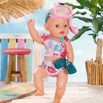 Baby Born Holiday Deluxe Bikini set -