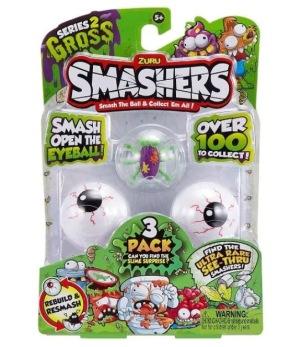 Smashers gross serie 2, 3-pack - Smashers gross serie 2, 3-pack