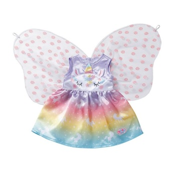Baby Born Unicorn Fairy Outfit 43m - Baby Born Unicorn Fairy Outfit 43m