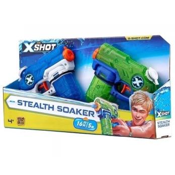 X-SHOT Stealth Soaker Vatten pistol 2pack - X-SHOT Stealth Soaker Vatten pistol 2pack