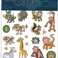 Barntatuering - Gnuggisar, Vilda djur 23C
