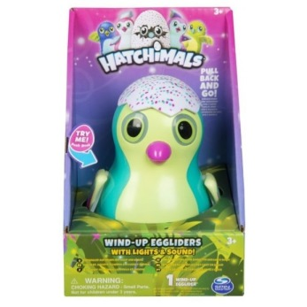 Hatchimals Wind-up Egg med ljud och ljus - turkos - Hatchimals Wind-up Egg med ljud och ljus - turkos