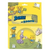 Bamse, Bamse & Bronto Bok med CD