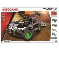 Meccano, 25 Models set, Mountain Rally