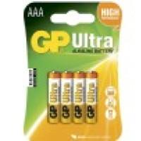 GP Batterier Ultra AAA 4-pack