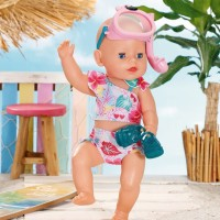 Baby Born Holiday Deluxe Bikini set