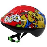Tilda's Cykelhjälm Bamse, Röd 2+