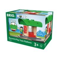 BRIO World - 33840 Spela in & spela upp – tågstation