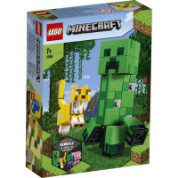 21156 LEGO Minecraft BigFig Creeper™ och ozelot 7+