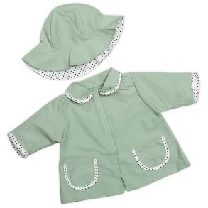 Skrållans regnjacka och hatt - Skrållans regnjacka och hatt